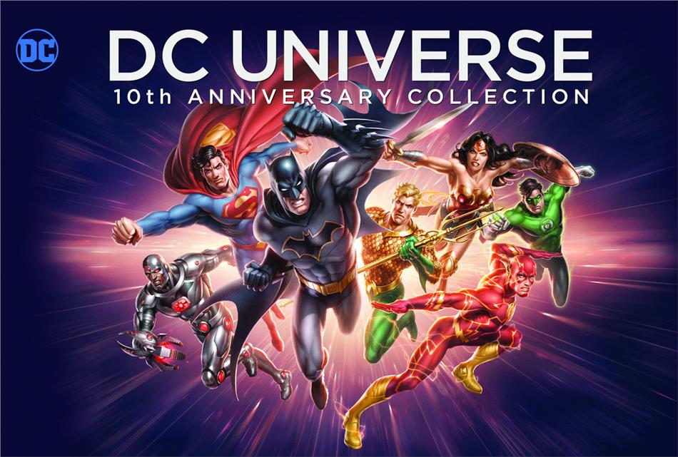 DC Universe (10th Anniversary Collection, 19 Blu-rays)