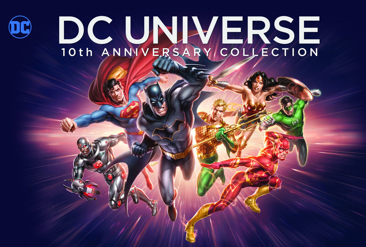 DC Universe - (10th Anniversary Collection, 19 Blu-rays)