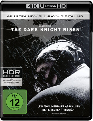 Batman - The Dark Knight Rises (2012) (4K Ultra HD + Blu-ray)