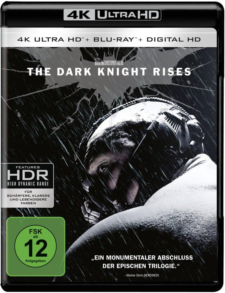 The Dark Knight Rises (4K Ultra HD) (+ 2 Blu-rays)
