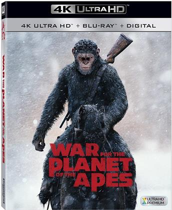 War for the Planet of the Apes (2017) (4K Ultra HD + Blu-ray)