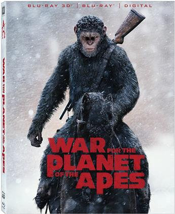 War for the Planet of the Apes (2017) (Blu-ray 3D + Blu-ray)