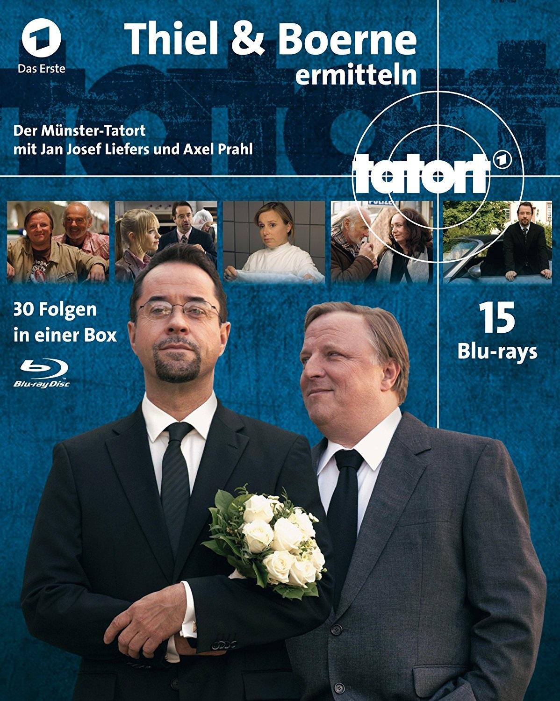 Tatort Münster - Thiel & Börne ermitteln - Komplettbox - Alle 30 Fälle (15 Blu-rays)