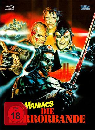 Maniacs - Die Terrorbande (1986) (Cover A, Limited Edition, Mediabook, Uncut, Blu-ray + DVD)