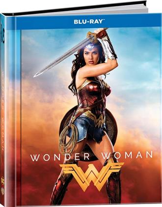 Wonder Woman (2017) (Lenticular, Digibook, Blu-ray + DVD)