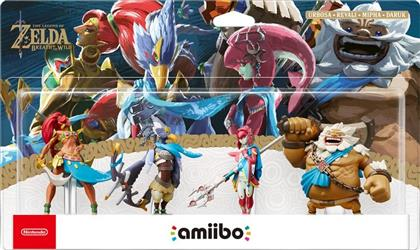 Amiibo The Legend of Zelda Collection - (Urbosa/Mipha/Daruk/Revali)