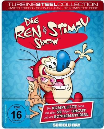 Die Ren & Stimpy Show - Die komplette Serie (Turbine Steel Collection, Limited Edition, Steelbook, 2 Blu-rays)