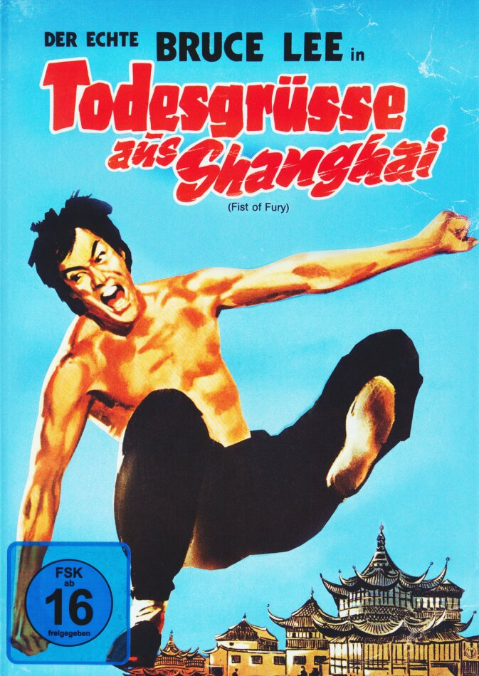Bruce Lee - Todesgrüsse aus Shanghai (Fist of Fury) (1972) (Bruce Lee Collection, Limited Edition, Mediabook, Uncut, Blu-ray + DVD)