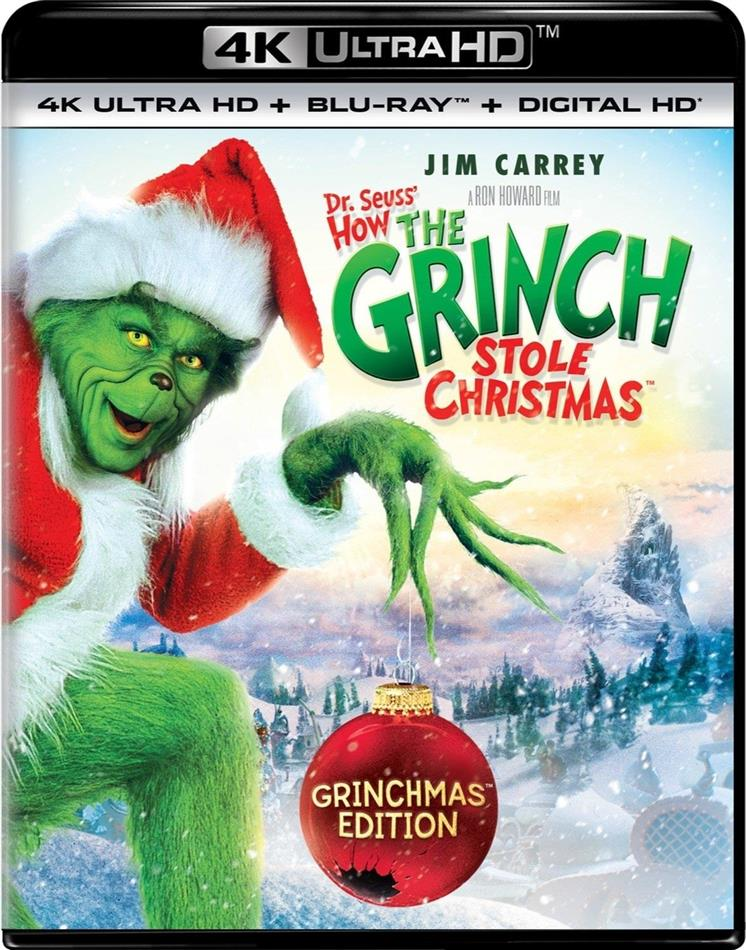 How The Grinch Stole Christmas (2000) (4K Ultra HD + Blu-ray)