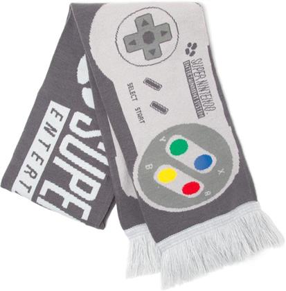 Nintendo - Super Nintendo Controller Knitted Scarf