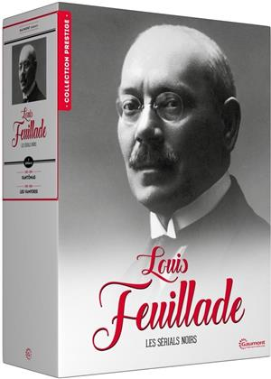 Louis Feuillade - Les sérials noirs (Collection Prestige, Gaumont, s/w, Limited Edition, 9 DVDs)