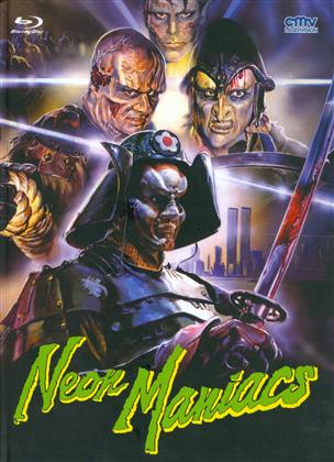 Neon Maniacs (1986) (Cover B, Limited Edition, Mediabook, Uncut, Blu-ray + DVD)