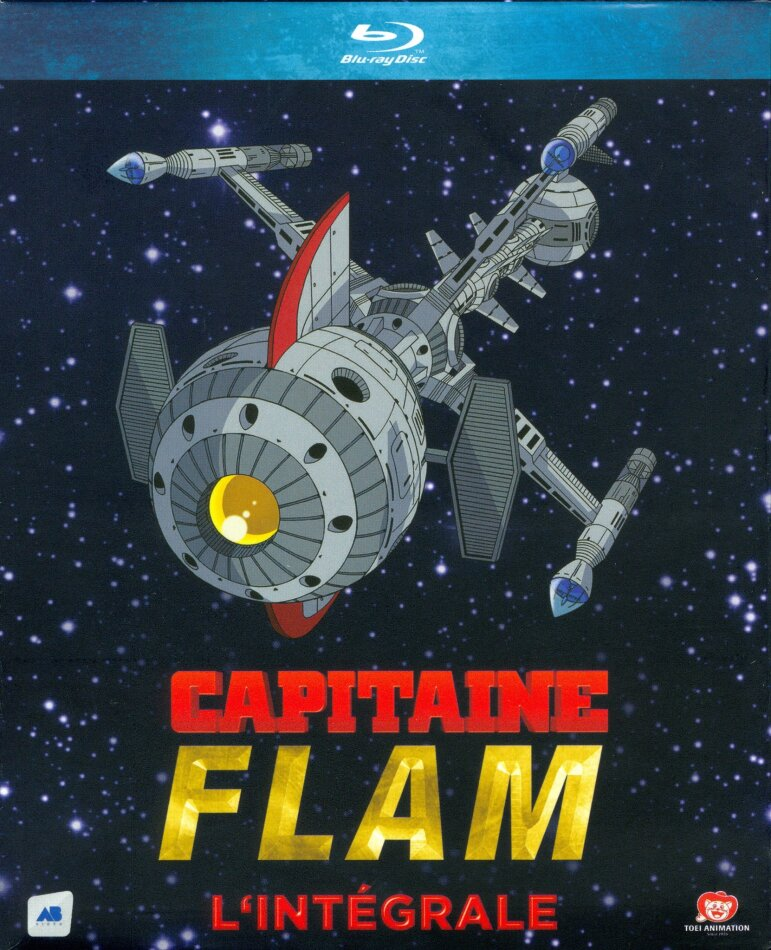 Capitaine Flam - L'intégrale (Remastered, 6 Blu-rays)