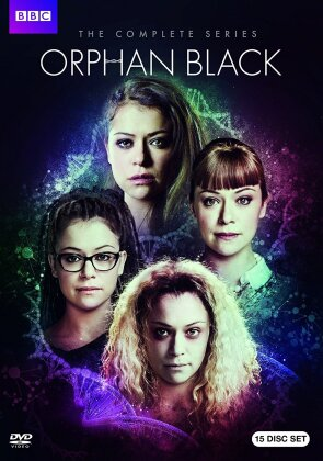 Orphan Black - The Complete Series (BBC, 15 DVDs)