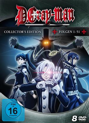 D.Gray-Man - Folgen 1-51 (Collector's Edition, 8 DVDs)