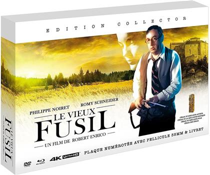 Le vieux fusil (1975) (Plaque plexiglass, Collector's Edition, 4K Ultra HD + Blu-ray + DVD + Buch)