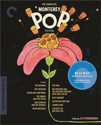 Various Artists - The Complete Monterey Pop Festival (Criterion Collection, 3 Blu-rays)