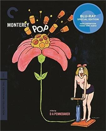 Various Artists - Monterey Pop (Criterion Collection, Special Edition, 2 Blu-rays)