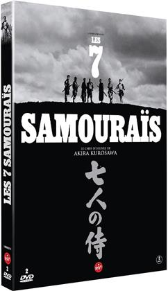 Les 7 samouraïs (1954) (s/w, 2 DVDs)