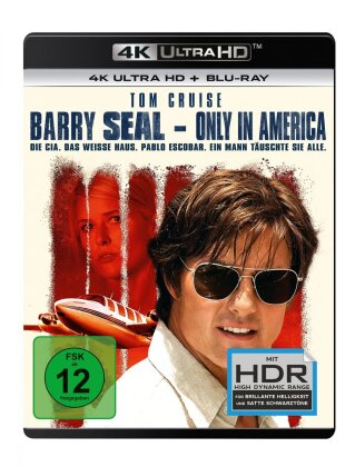 Barry Seal - Only in America (2017) (4K Ultra HD + Blu-ray)