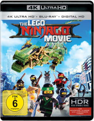 The LEGO Ninjago Movie (2017) (4K Ultra HD + Blu-ray)