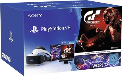 Playstation 4 VR Bundle +Gran Turismo Sports + VR Worlds