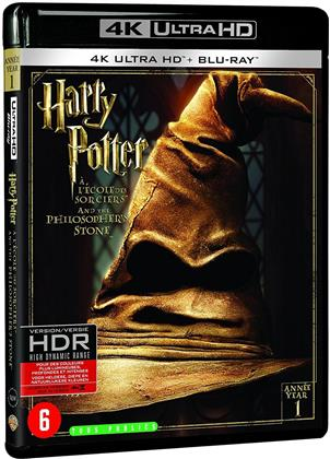 Harry Potter à l'école des sorciers (2001) (Extended Edition, Kinoversion, 4K Ultra HD + Blu-ray)
