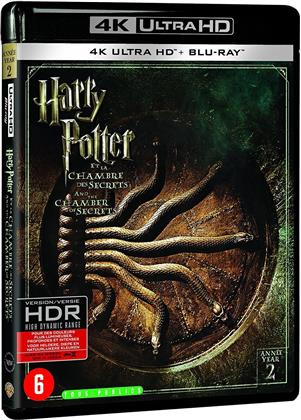 Harry Potter et la chambre des secrets (2002) (Extended Edition, Kinoversion, 4K Ultra HD + Blu-ray)