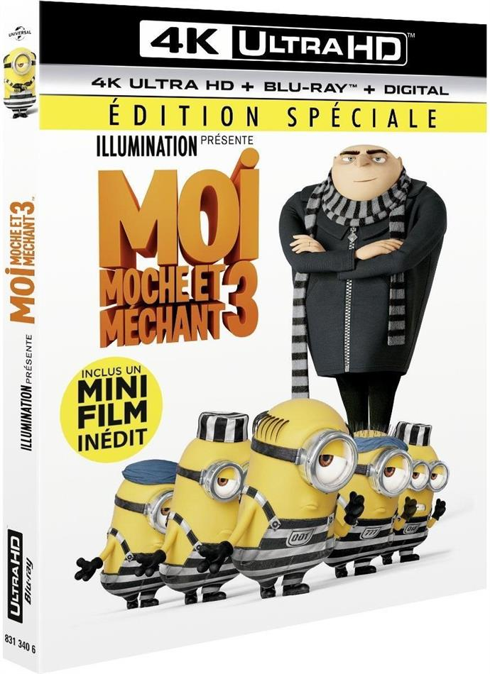 Moi, moche et méchant 3 (2017) (Special Edition, 4K Ultra HD + Blu-ray)