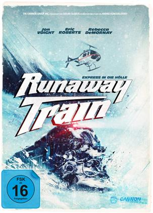 Runaway Train - Express in die Hölle (1985) (Cover A, Collector's Edition, Limited Edition, Mediabook, Uncut, Blu-ray + DVD)