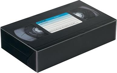 "Vintage Audio - Blechdose ""Video Kassette"""