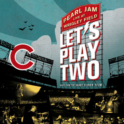 Pearl Jam - Lets Play Two - Live at Wrigley Field (Mediabook, DVD + CD)