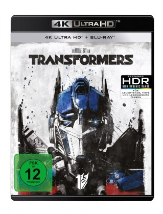 Transformers (2007) (4K Ultra HD + Blu-ray)