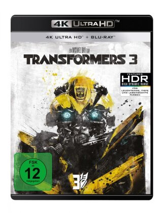Transformers 3 - Dark of the Moon (2011) (4K Ultra HD + Blu-ray)