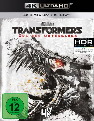 Transformers 4 - Ära des Untergangs (2014) (4K Ultra HD + Blu-ray)