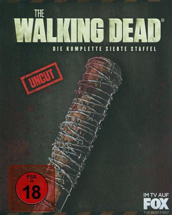 The Walking Dead - Staffel 7 (Edizione Limitata, Edizione Speciale, Steelbook, Uncut, 6 Blu-ray)