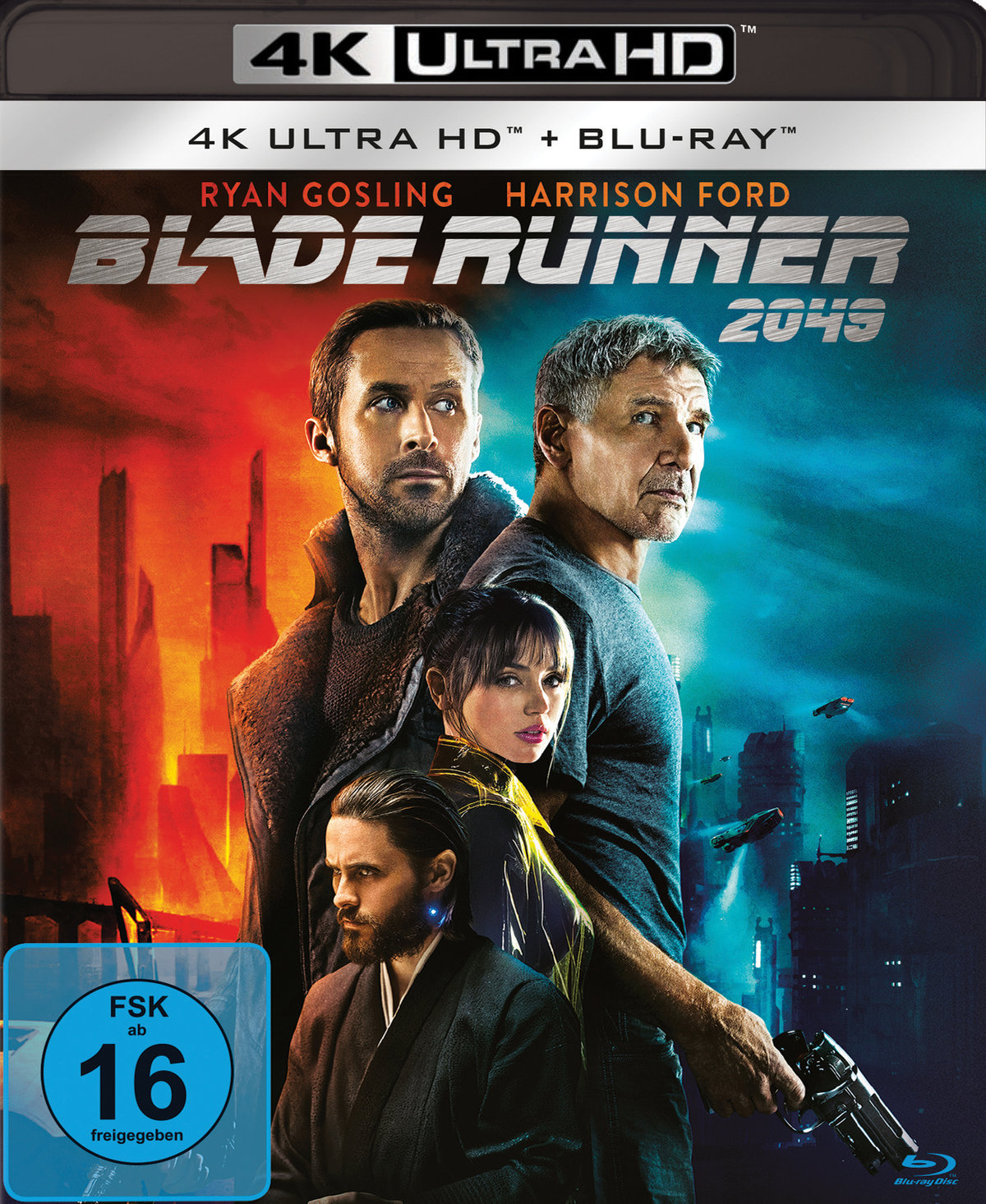 Blade Runner 2049 4K (2017) - (4K Ultra HD & Blu-ray)