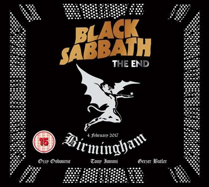 Black Sabbath - The End - Live in Birmingham (DVD + CD)