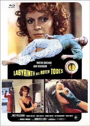 Labyrinth des roten Todes (1975) (Cover D, Eurocult Collection, Limited Edition, Mediabook, Blu-ray + DVD)