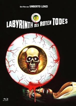 Labyrinth des roten Todes (1975) (Cover B, Eurocult Collection, Limited Edition, Mediabook, Blu-ray + DVD)