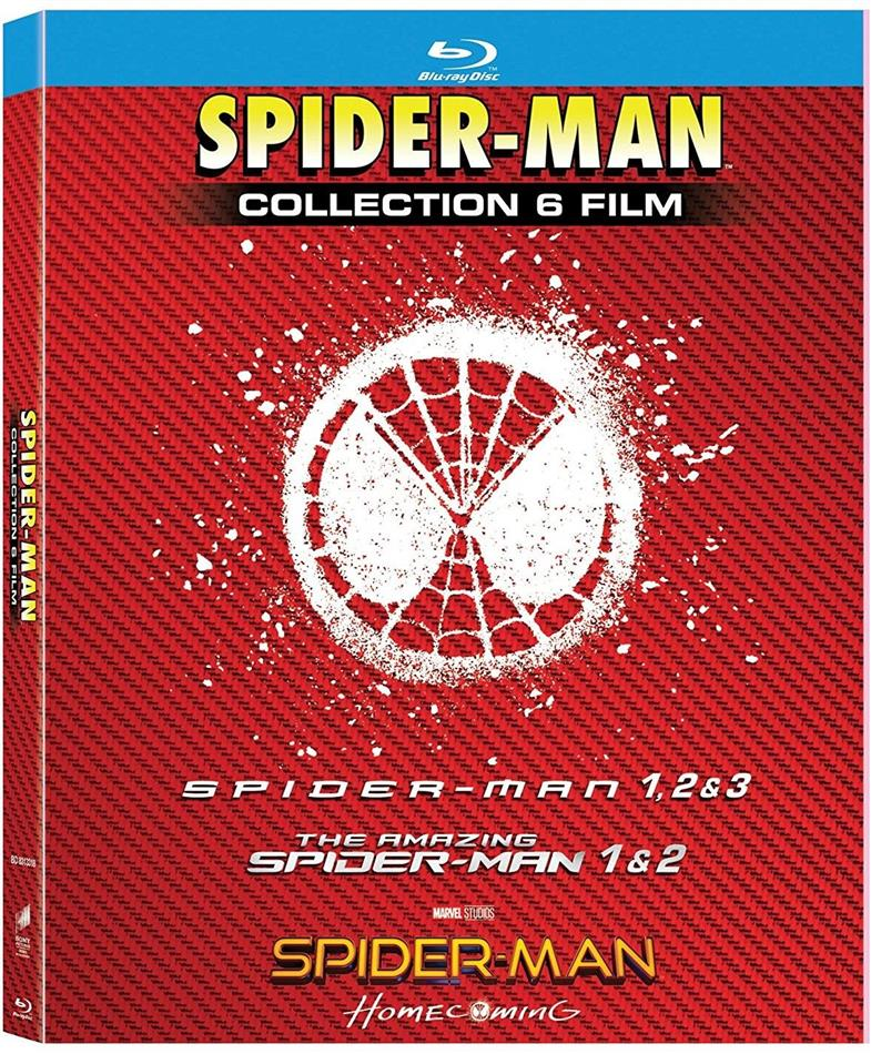 Spider-Man - Collection 6 Film (6 Blu-ray)