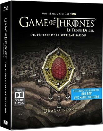 Game of Thrones - Saison 7 (avec Magnet Collector, Limited Edition, Steelbook, 4 Blu-rays)