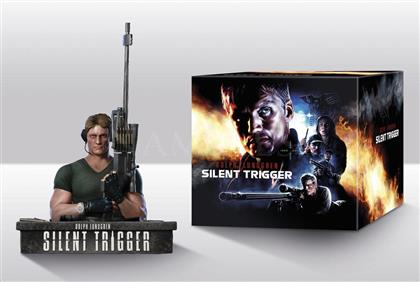 Silent Trigger (1996) (+ Büste, Limited Edition, Mediabook, Remastered, Uncut, Blu-ray + DVD)
