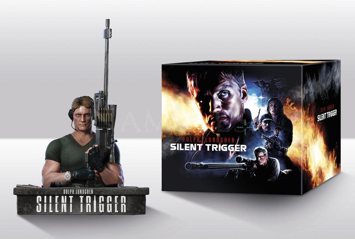 Silent Trigger (1996) - (+ Büste, Limited Edition, Mediabook, Remastered, Uncut, Blu-ray & DVD)