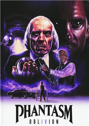 Phantasm 4 - Oblivion (1998) (Cover D, Limited Edition, Mediabook, Uncut, Blu-ray + DVD)