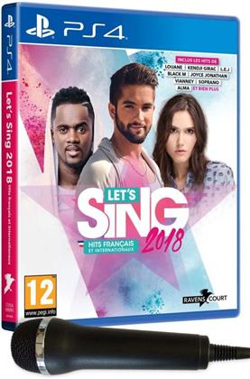 Let's Sing 2018 Hits français et internationaux + 2 Mics