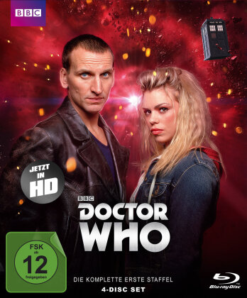 Doctor Who - Staffel 1 (BBC, 4 Blu-rays)