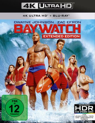 Baywatch (2017) (4K Ultra HD + Blu-ray)