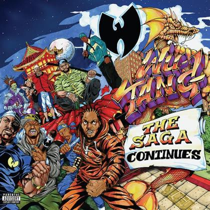 Wu-Tang Clan - The Saga Continues (Purple Vinyl, 2 LPs + 2 CDs)