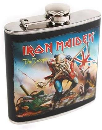 Iron Maiden Flachmann - The Trooper